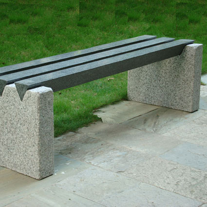 granit bænke/skamler