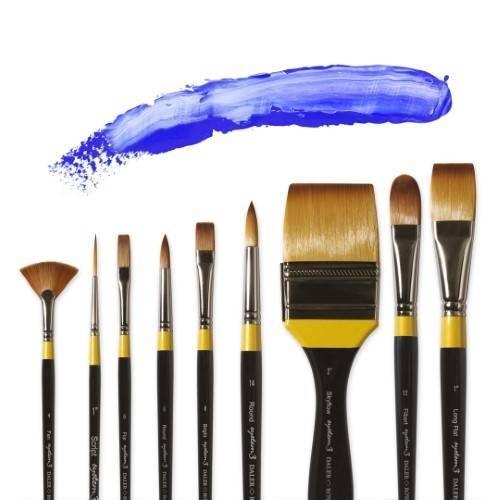 System3 Acrylic Brushes