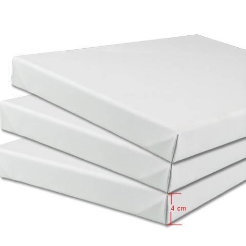 Kvalitets Boxlærreder 4cm - Bomuld/polyester