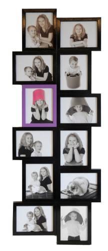 Hyggelig Collage ramme til 12 billeder XX-04