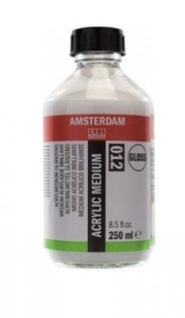 Acrylic medium Glossy 012 - 250ml