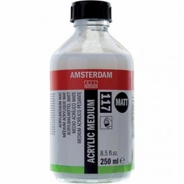 Acrylic medium Matt 117 - 250ml