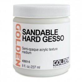 Golden Acryl 236 ml.3551 Sandable Hard Gesso
