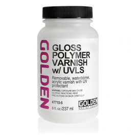 Golden Gloss Polymer Varnish m/UVLS 237 ml