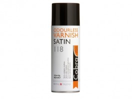Cobra Spray Varnish Satin 118 - 400 ml