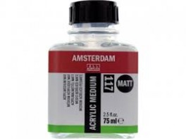 Acrylic medium Matt 117 - 75ml